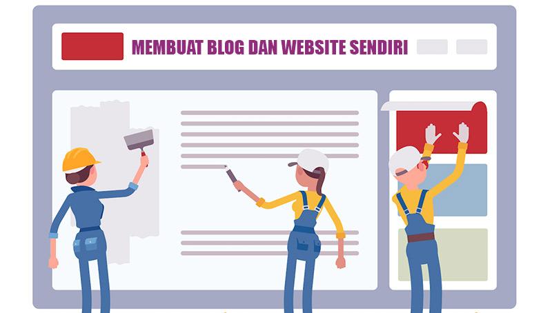 Cara Membuat Blog dan Website Sendiri